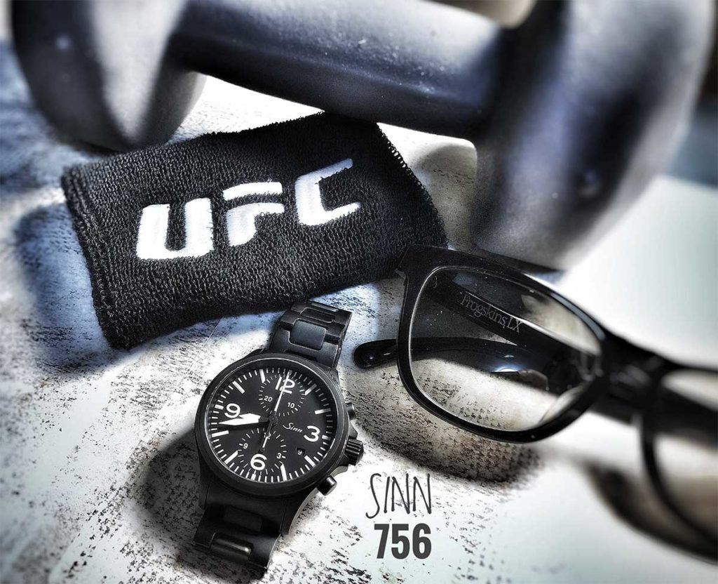 Diese Sinn 756 mit voll ausgebildetem Armband war meine erste Sinn-Uhr.