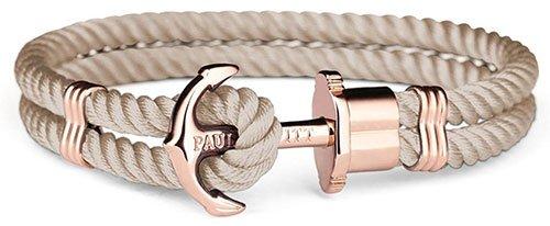 PAUL HEWITT Anker Armband Beige