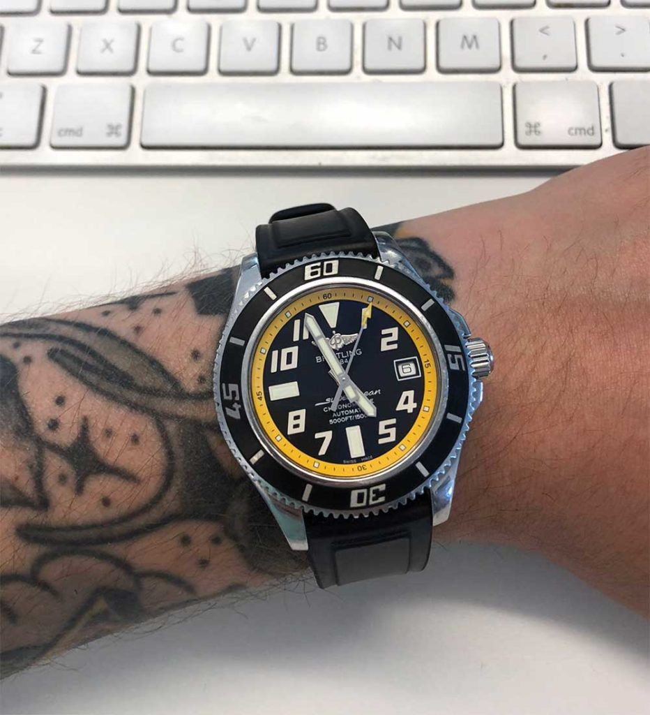 Breitling SuperOcean 42 Abyss