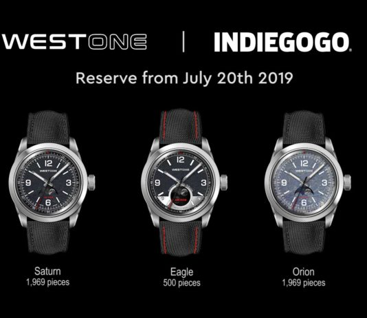 WEST ONE Apollo Watches
