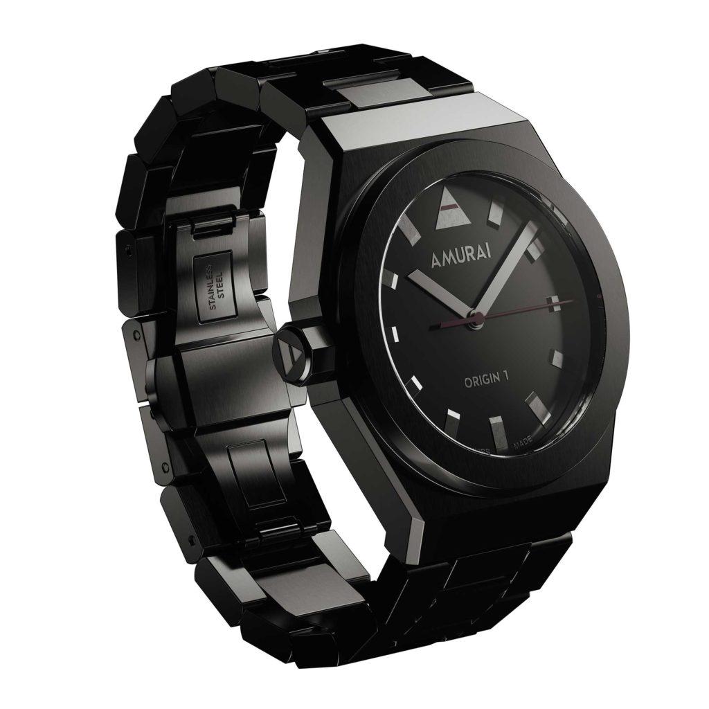 AMURAI Origin 1 – Absorbing Black with bracelet