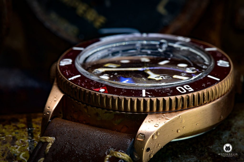 AQUATICO BRONZE SEA STAR BROWN DIAL