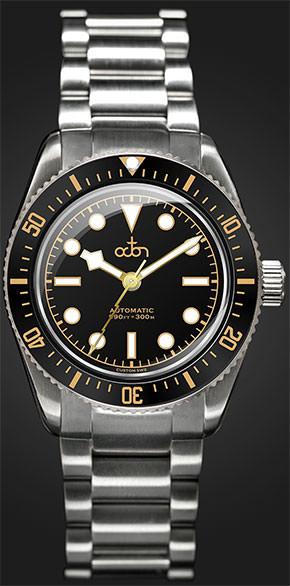 Beste Herrenuhren Octon Watch Schwarz Gold