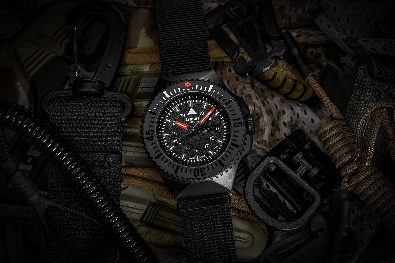 traser P69 Black Stealth Black NATO 109854