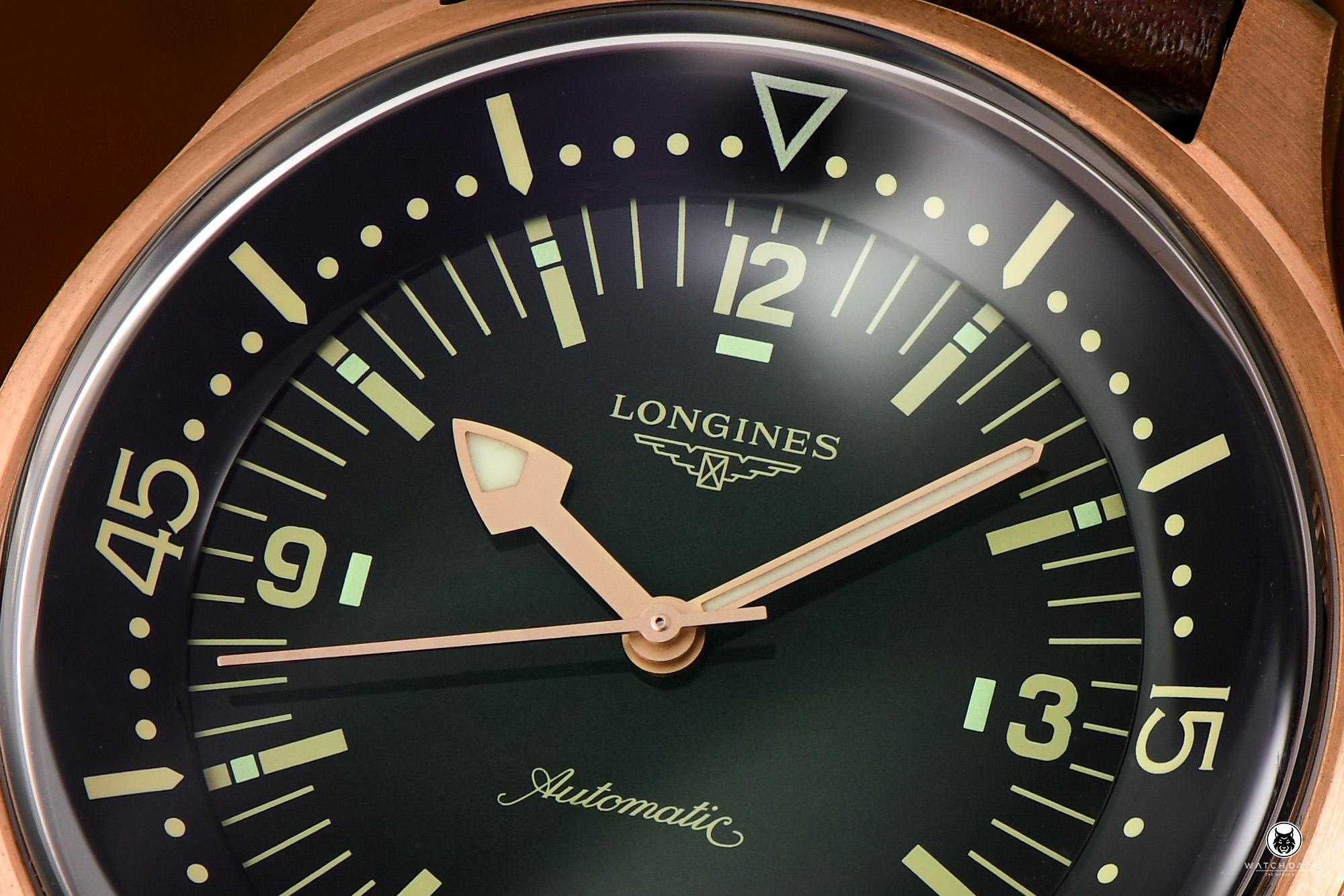 Longines Legend Diver Bronze