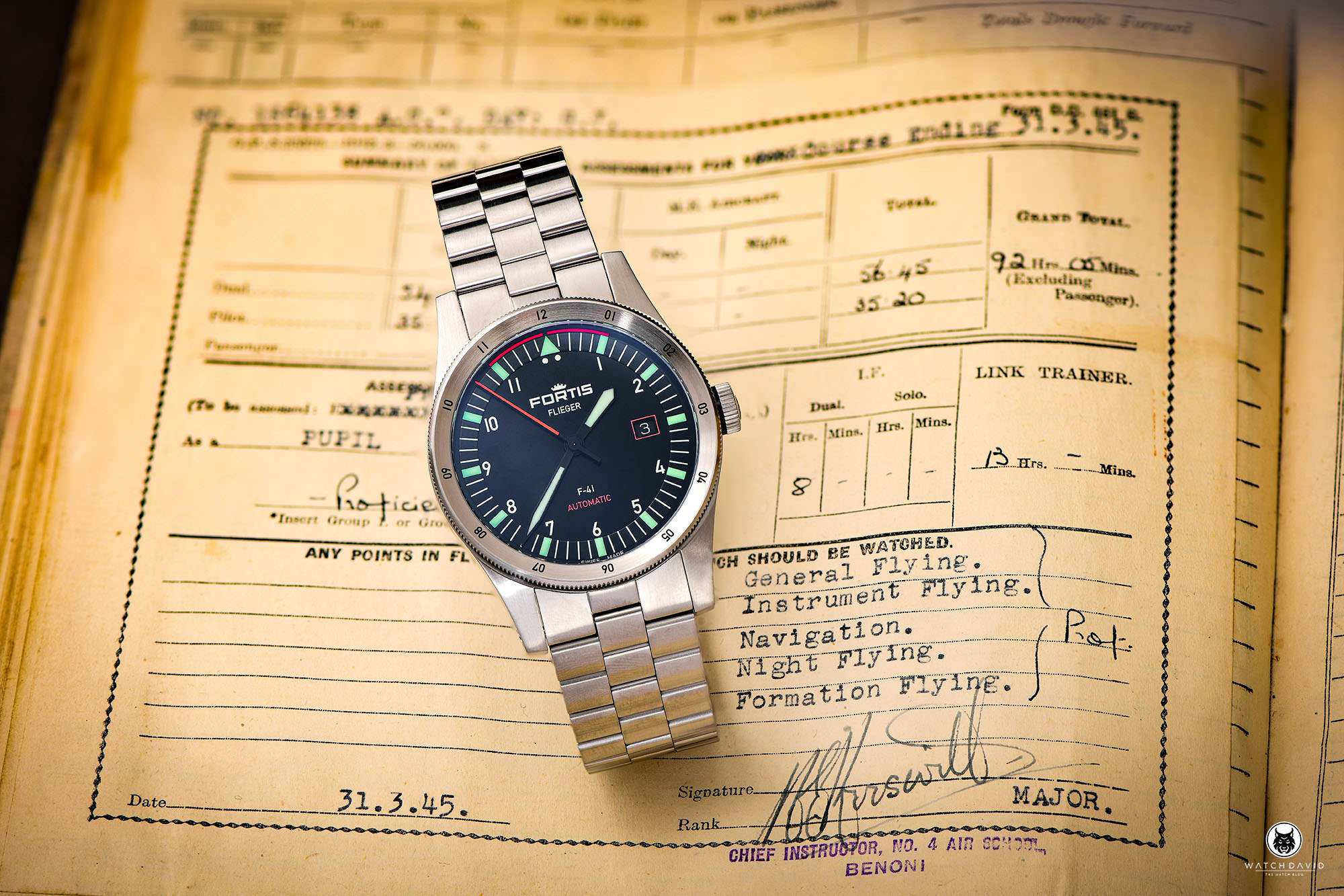 Fortis Flieger F-41 Automatic