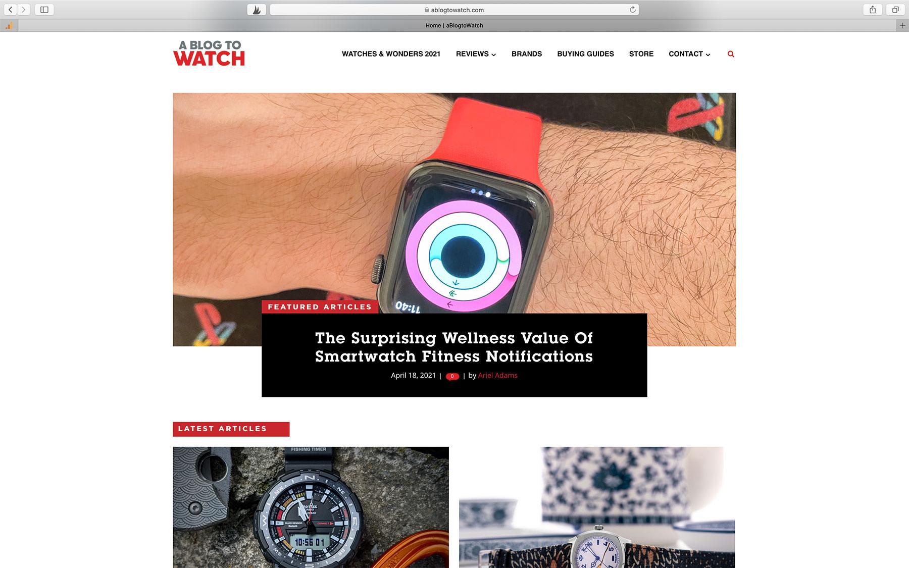 Watch Blogs aBlogtoWatch