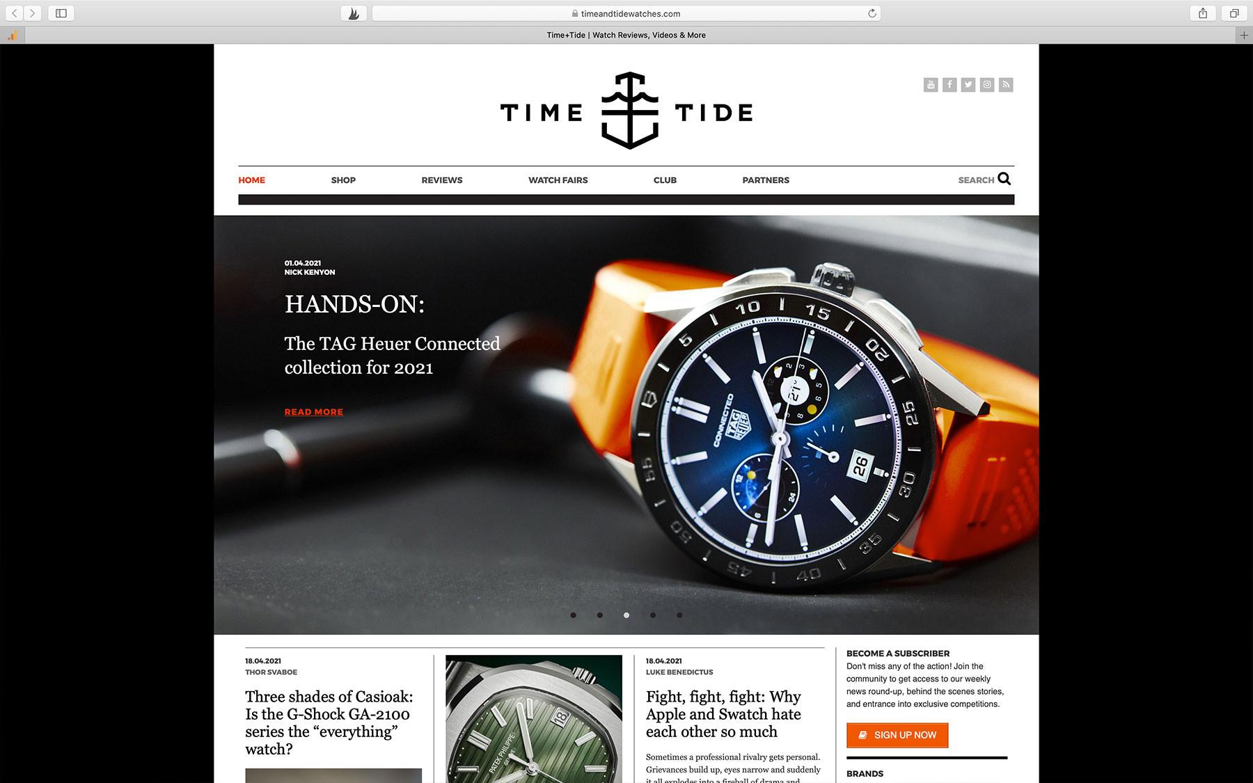 Watch Blogs Time+Tide