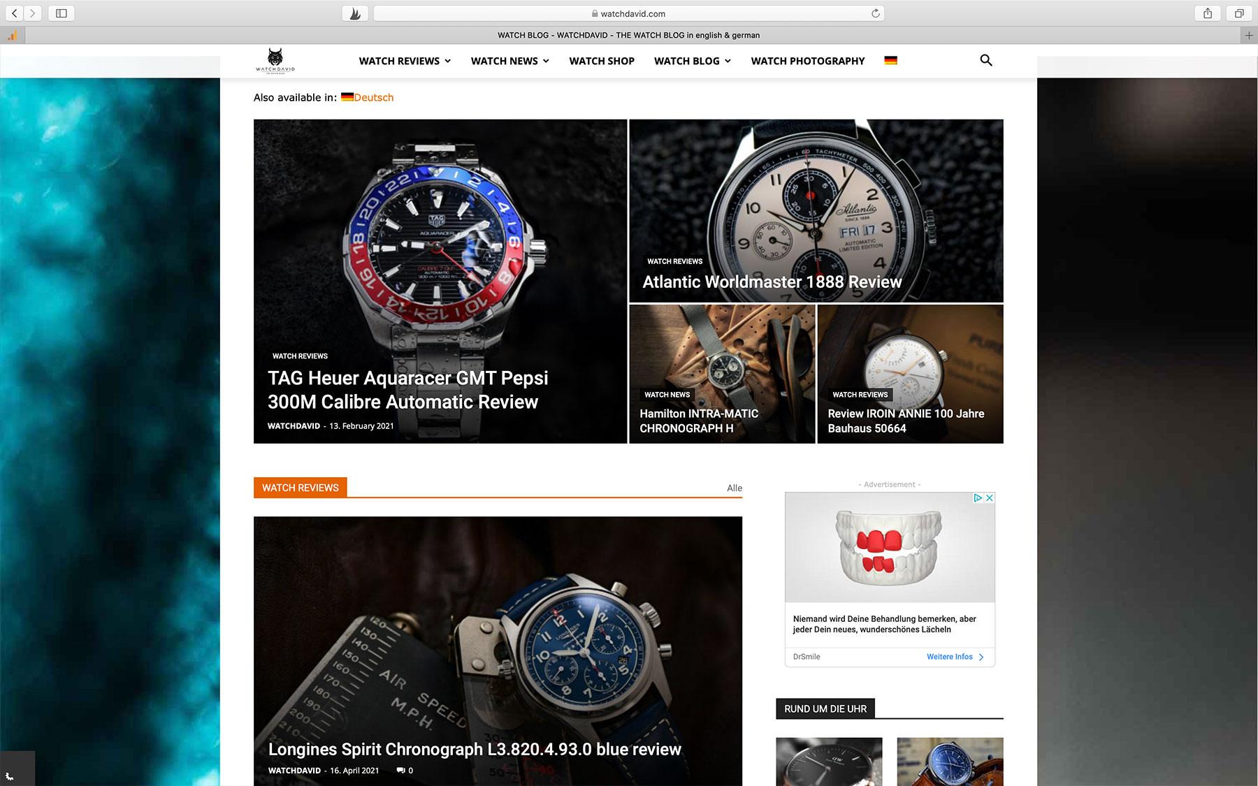 Watch Blogs WATCHDAVID