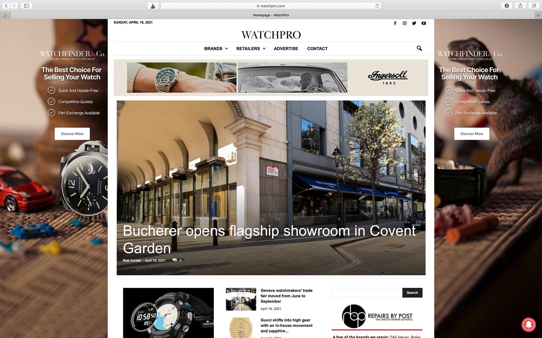 Watch Blogs WatchPro