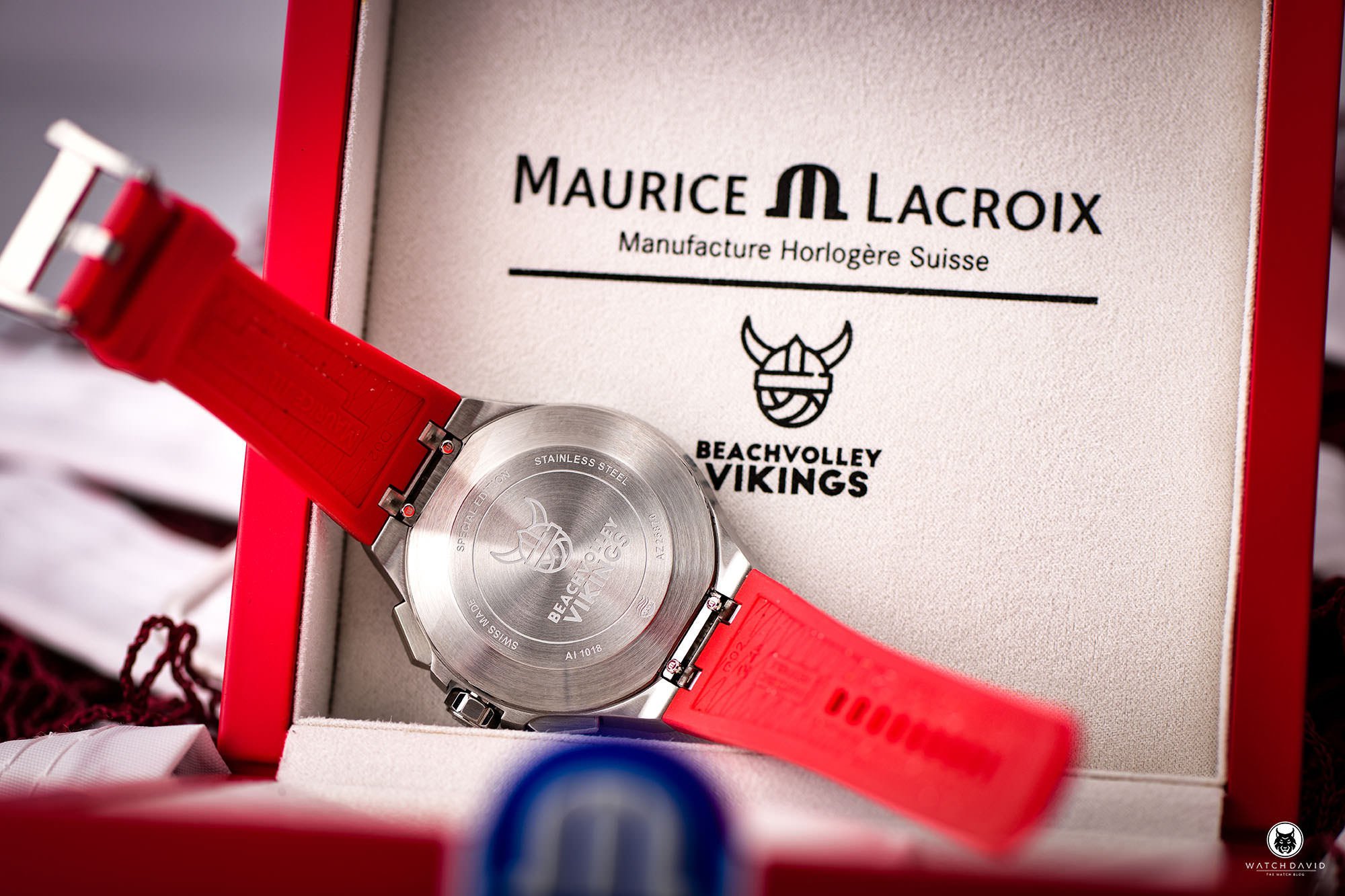 Maurice Lacroix AIKON Vikings Edition