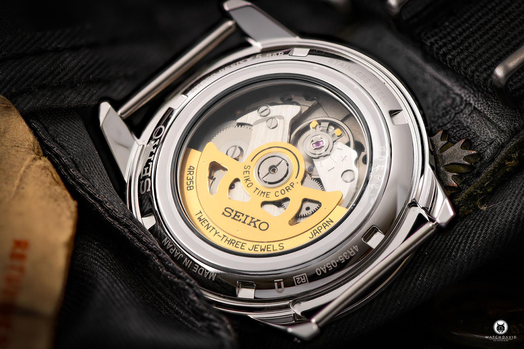 "Seiko Presage ""Style 60's"" SRPG09J1"
