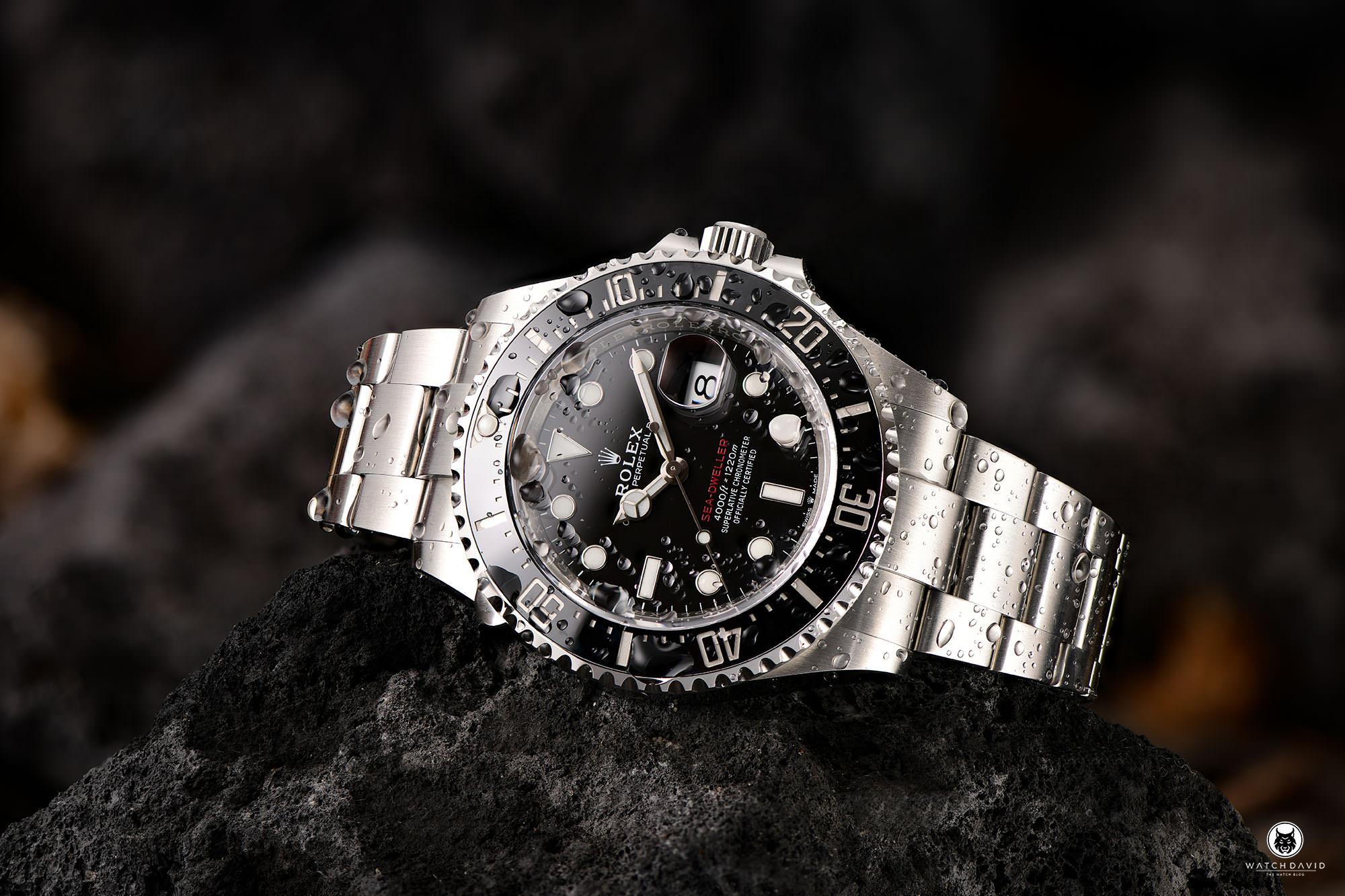 Rolex Sea-Dweller 4000 Single Red