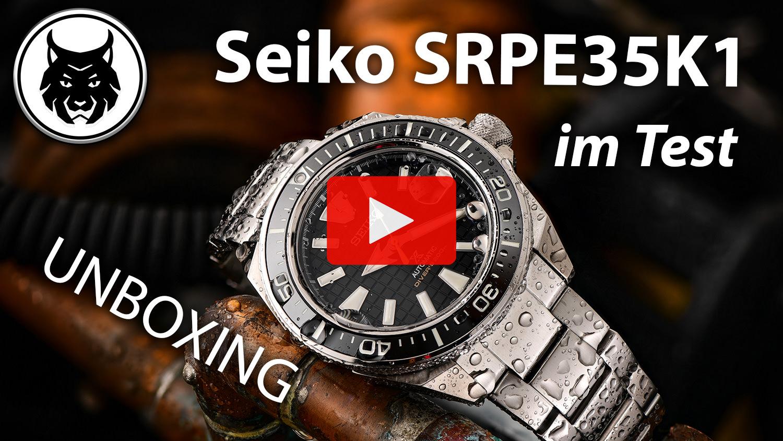 YouTube: Seiko Prospex King Samurai SRPE35K1 im Test - 4K
